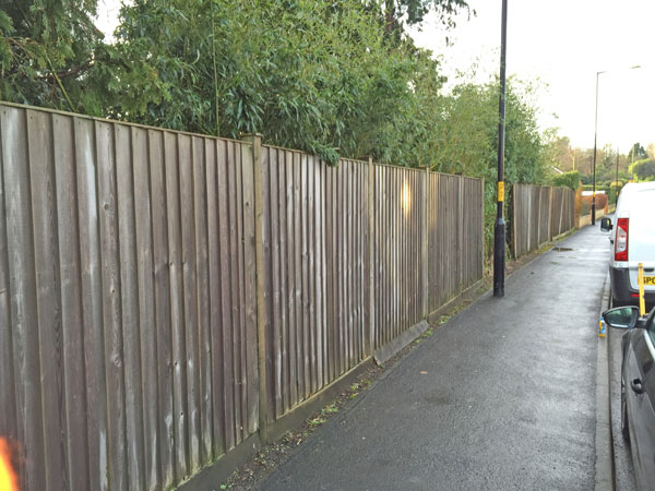 Fence before